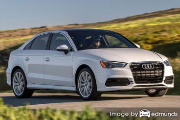 Insurance quote for Audi A3 in Durham