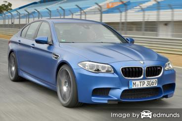 Insurance quote for BMW M5 in Durham