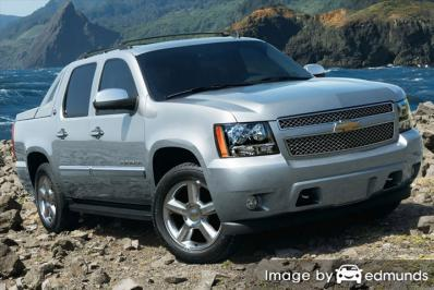 Discount Chevy Avalanche insurance