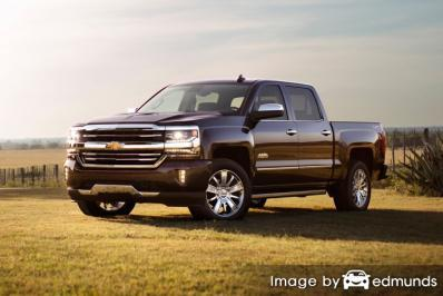 Insurance quote for Chevy Silverado in Durham