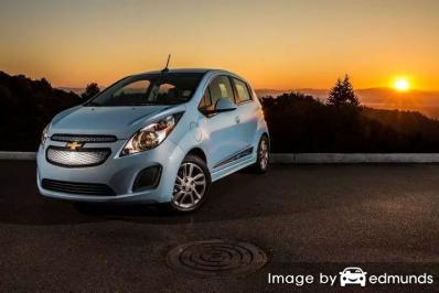 Insurance rates Chevy Spark EV in Durham