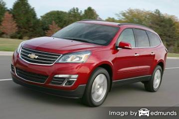 Insurance quote for Chevy Traverse in Durham