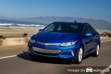 Insurance quote for Chevy Volt in Durham