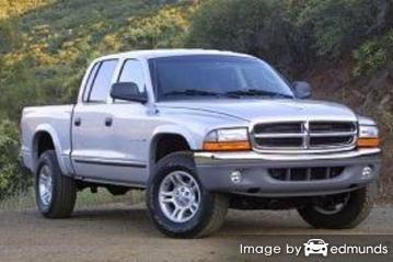 Insurance quote for Dodge Dakota in Durham