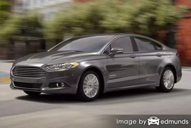 Insurance quote for Ford Fusion Hybrid in Durham