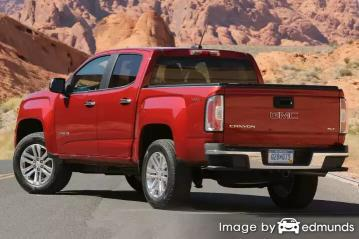 Insurance quote for GMC Canyon in Durham