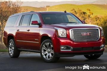 Discount GMC Yukon insurance