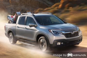 Insurance quote for Honda Ridgeline in Durham