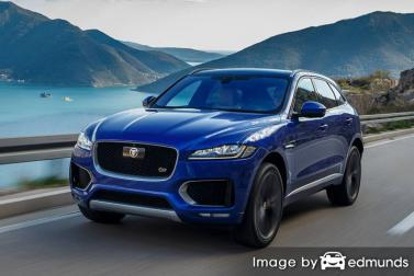 Insurance rates Jaguar F-PACE in Durham
