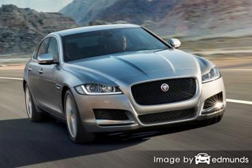 Insurance quote for Jaguar XF in Durham