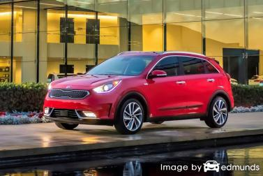 Insurance quote for Kia Niro in Durham