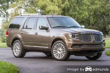 Insurance quote for Lincoln Navigator in Durham