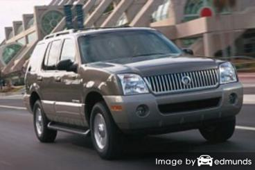 Insurance quote for Mercury Mountaineer in Durham