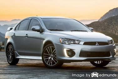 Insurance quote for Mitsubishi Lancer in Durham