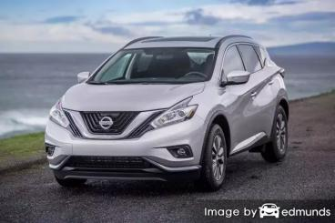Insurance rates Nissan Murano in Durham