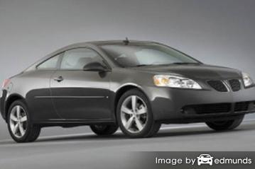 Insurance rates Pontiac G6 in Durham