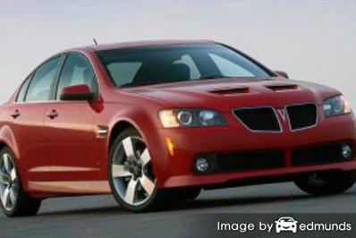 Insurance quote for Pontiac G8 in Durham