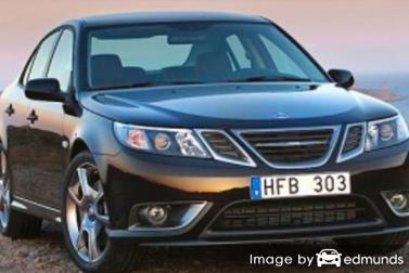 Insurance rates Saab 9-3 in Durham