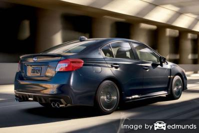Insurance rates Subaru WRX in Durham