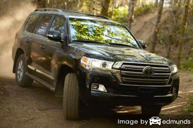 Discount Toyota Land Cruiser insurance