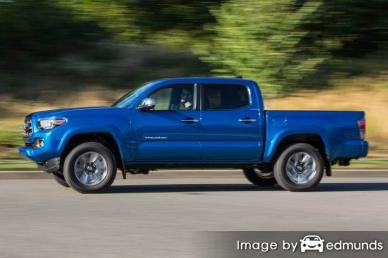 Insurance quote for Toyota Tacoma in Durham